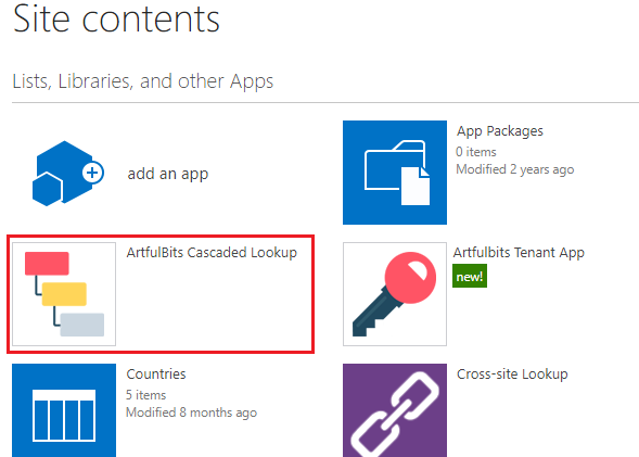 Cascaded Lookup Online Column - v1.0 sharepoint tutorial, photo 11